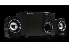 Sistema de audio multimedia 2.1 con lector de memorias y usb AFX-390